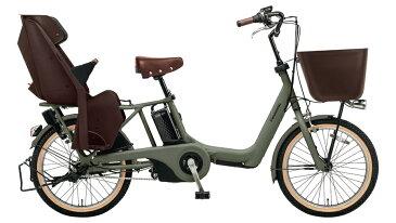 電動自転車 パナソニック Panasonic ギュット アニーズ KE 20インチ 電動アシスト自転車 2018年モデル 激安 格安 BE-ELKE03G マットオリーブ 通販 おしゃれ