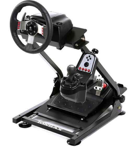 ハンドルコントローラー IonraxRS1   ハンコンスタンドハンコンレーシングシートテレビゲームPS4PS3グランツーリスモ