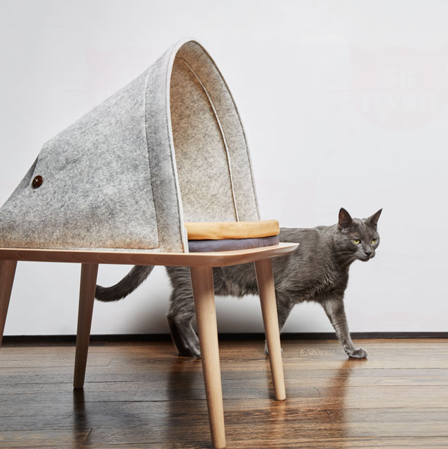 meyou THE BED(ベッド)  猫用 ベッド ファニチャー 爪とぎ 取り寄せ商品です。【特箱】