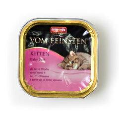【アニモンダ 猫缶 フォムファインステン ベビーパテ離乳食(ウェットフード/仔猫用) (83207) 1...