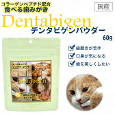 デンタビゲンパウダー 60g【口臭対策&歯周病対策+コラーゲンペプチド配合】 (61305)
