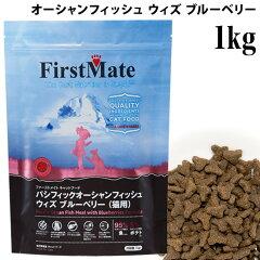ファーストメイト パシフィックオーシャンフィッシュ ウィズ ブルーベリー 1kg 猫 【グレイ…
