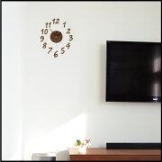 ウォール クロック オリジナル ステッカー 自由自在 オシャレ セパレート 掛け時計