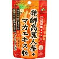 マカ増大サプリ発酵高麗人参+マカエキス粒男性サポートサプリメントメール便送料無料n031600