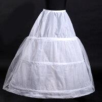 【花嫁ドレス 定番】薄手 大人用 ウエディングドレス ハロウィン3段 ボリューム 折り畳める パニエ フリルいっぱい ハードチュール1枚を重ね 裏地付き ワイヤー ふわふわパニエ スカート レディース ハロウィーン