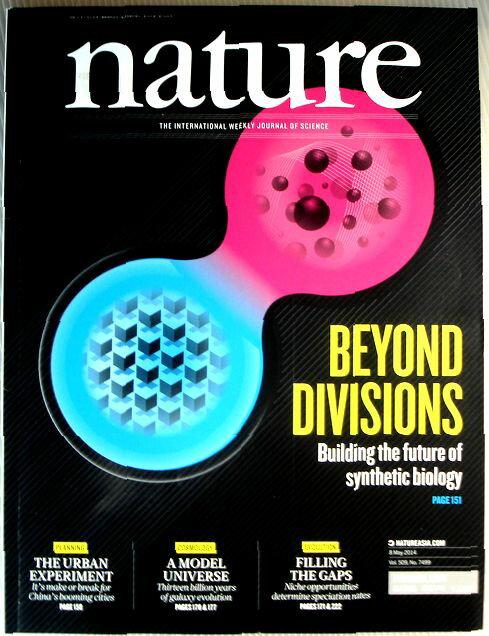 雑誌, サイエンス・医学・技術雑誌 nature 201458