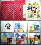 【中古】Disneyディズニーマジカルイングリッシュストーリーズこども知育英語CD10巻カラオケCD1巻絵本20冊全訳解説書1冊