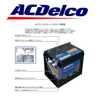 ACデルコバッテリー58-6MFアメ車フォードマスタングJEEPチェロキーラングラー