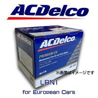 ACデルコバッテリーLBN1FIAT500フィアットパンダクライスラーPTクルーザー