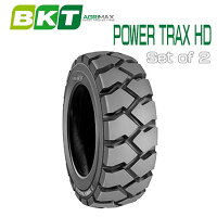 【7.00-12】BKTTire・POWERTRAXHDフォークリフト用タイヤ2本セット