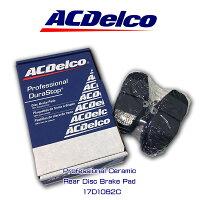 ACDelcoブレーキパッド17D1082Cリアフォーマスタング