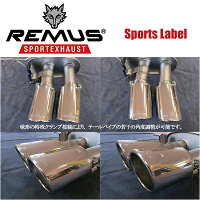 REMUSSPORTSLABELEXHAUSTGOLF7GTI/GTIパフォーマンス/9551131500/9552130000/004683CTS/952401HES