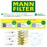 MANNFILTERマンフィルターFP2842エアコンキャビンフィルターフレシャスプラス輸入車用ポリフェノールポルシェカイエン955,957
