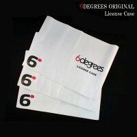 6DEGREESオリジナルライセンスケース(車検証入れ)