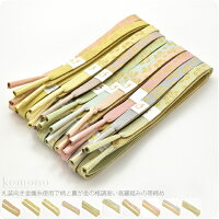 【帯締め】正絹高麗組み帯〆,手ぐみ,金糸,並尺,花々