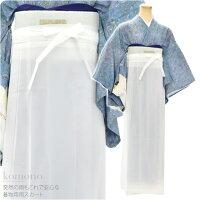 【和装雨コート】巻きスカート,着物用レインコート,下半身雨スカート,日本製,あづま姿764