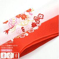 【七五三/和装小物/女の子】子供用,正絹刺繍半衿,日本製,柄お任せ