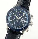 エドックス EDOX クロノオフショア1 01122-3BU3-BUIN3-L クロノグラフ 自動巻 メンズ腕時計 SS セラミック レザー 【中古】