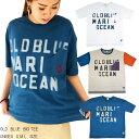 OLD BLUE BIGTシャツ ユニセックス Tシャツ ポケットTシャツ ダンスTシャツビックTシャツアメカジ ペアルック 親子お揃いTシャツストリート カジュアル 2019 春夏 新作【7BRIDGE(セブンブリッジ)】