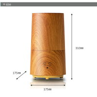 アロマ可能な超音波式加湿器トールウッドおしゃれな加湿器超音波式アロマ加湿器
