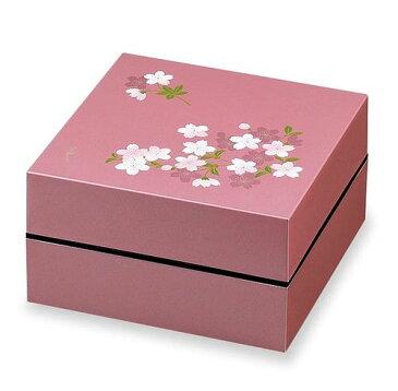 お重・お弁当箱 ランチボックス 宇野千代 オードブル重 2段 あけぼの桜 ピンク お弁当箱 大人 女子 男子 ランチボックス Lunch Box おしゃれ【同梱B】