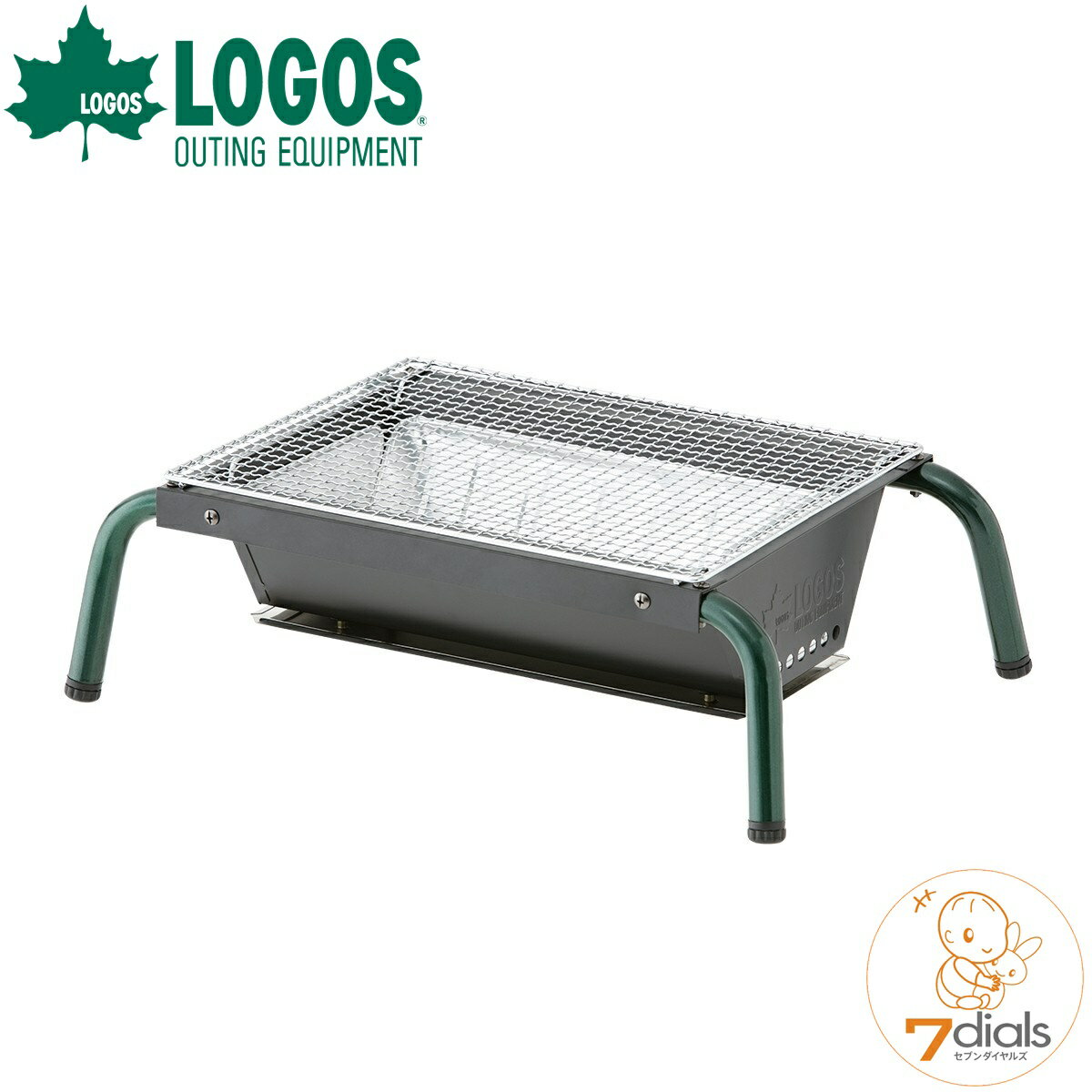 LOGOS/ロゴス お掃除楽ちんテーブルグリル BBGコンロ バーベキューコンロ キャンプ