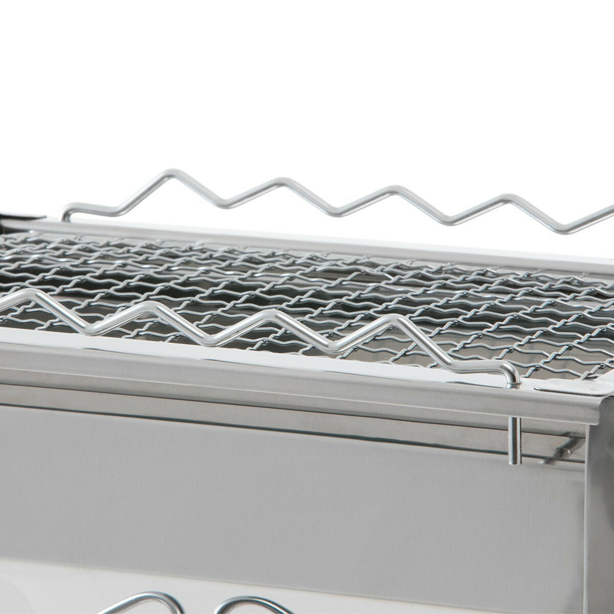 LOGOS/ロゴス ROSY 卓上ステングリル ステンレスボディの卓上BBQグリル 串焼き専用ラック付属で魚や焼き鳥調理にも便利