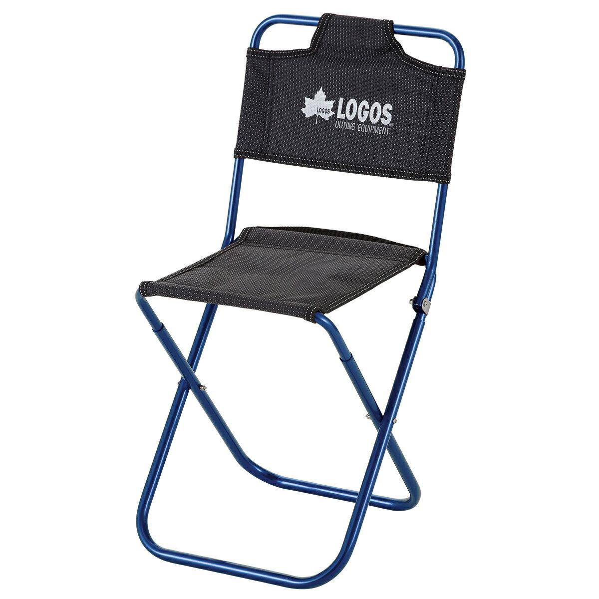 LOGOS/ロゴス 7075トレックチェア(背付)レッド トレッキングに最適な経理用でコンパクトな1人用チェア 椅子