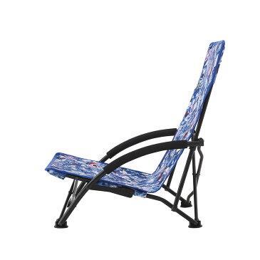 LOGOS/ロゴス Plantica あぐらチェア あぐらを組んでゆったり座れるローポジションチェア Planticaコラボ花柄デザイン ロースタイルチェア【送料無料】