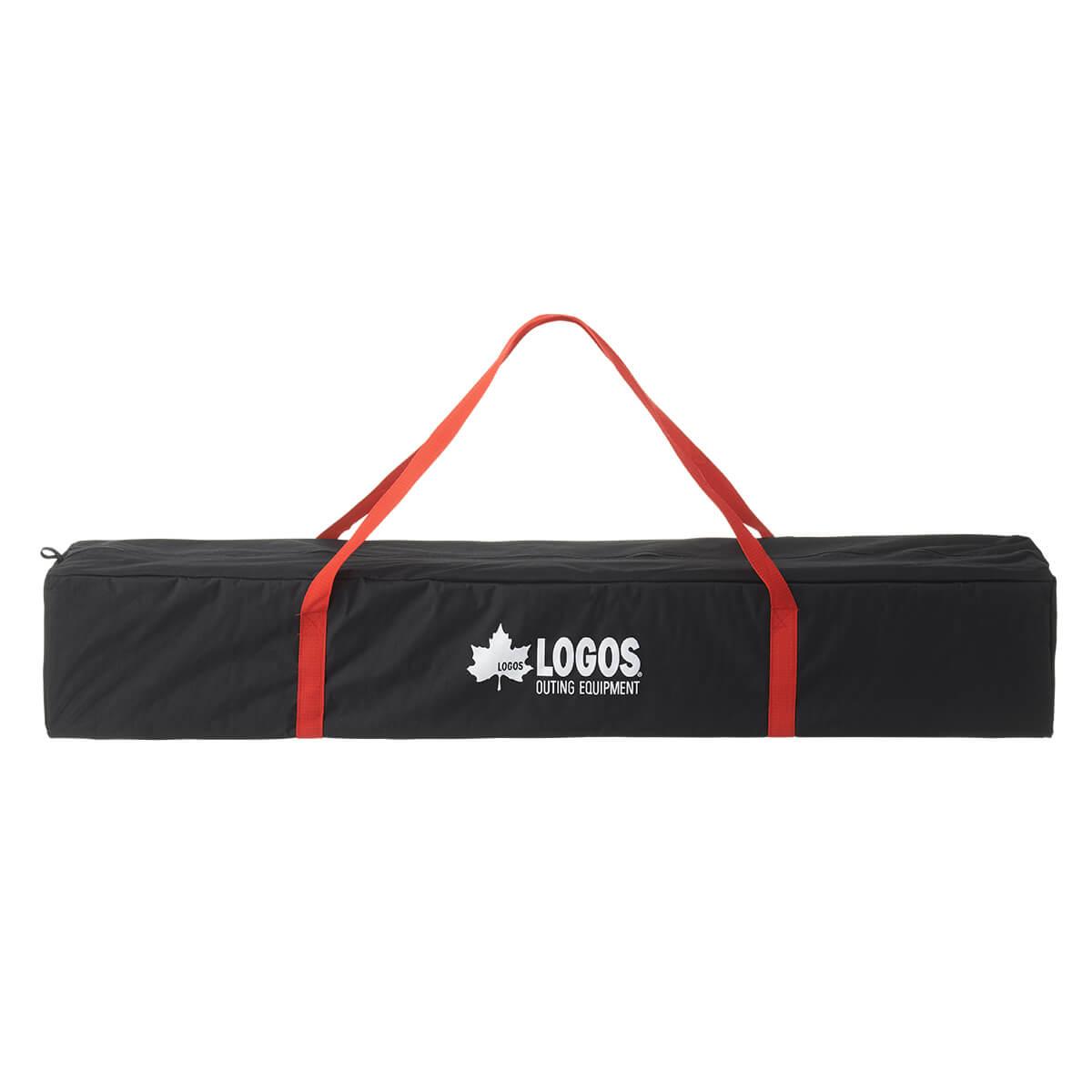 LOGOS/ロゴス QセットBlackタープ270 黒の珍しいタープ スクエア型 組み立て2分