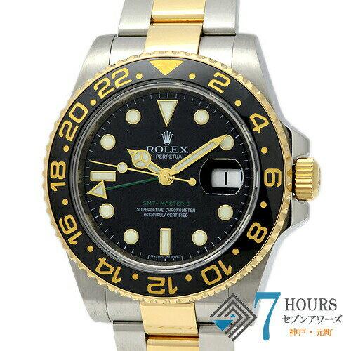 腕時計, メンズ腕時計 99172ROLEX 116713LN GMT 2 M YGSS WATCH