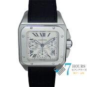 Cartier(カルティエ)W20090X8サントス100XLクロノグラフ【中古】