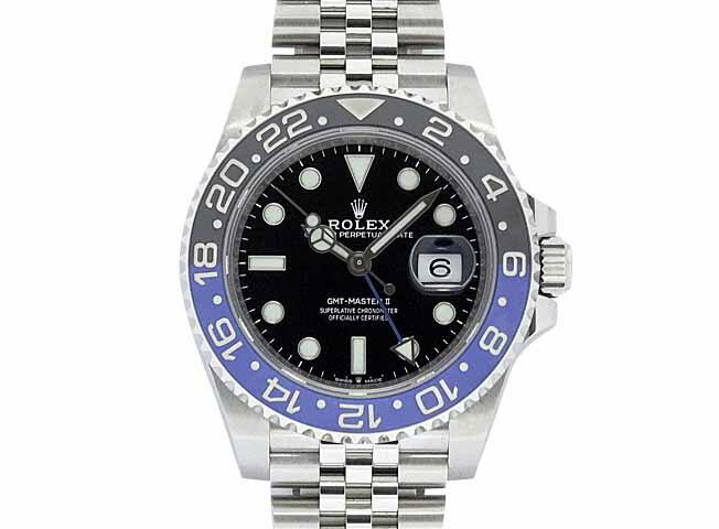 腕時計, メンズ腕時計  GMT2 126710BLNR 2019