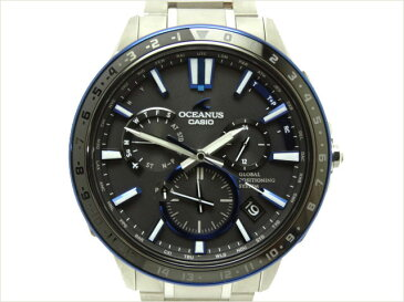 カシオ OCEANUS オシアナス OCW-G1200-1AJF GPSソーラー電波 2016年 箱・保証書・説明書付【中古】