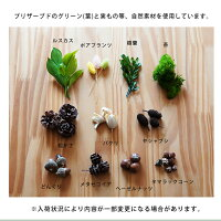 材料/プリザーブドグリーン/ボトルグリーン/敬老の日