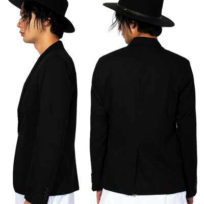 テーラードジャケットメンズジャケット【送料無料】全5色テーラードジャケット全5色テーラードスーツ生地ブレザー1つボタン裏地あり伸縮性なしシンプル8(eight)エイト8