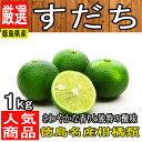 【徳島県産】すだち L〜3L 1箱 1kg【チルド便送料無料...