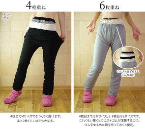 【2枚】シルクとウールのズボン下重ね履き冷えとりセット冷え取り841【送料無料】