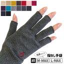 手指サポーターとして絶大な支持!指から手首を温めるアームウォーマー。防寒 痛み対策 優秀な...