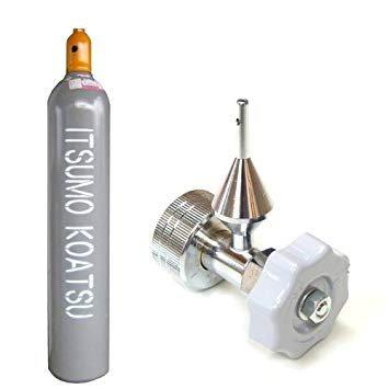 ヘリウムガス 風船用 バルーン用 レンタル ボンベ 7000リットル ハンドル式注入器具 60日間レンタル イベント