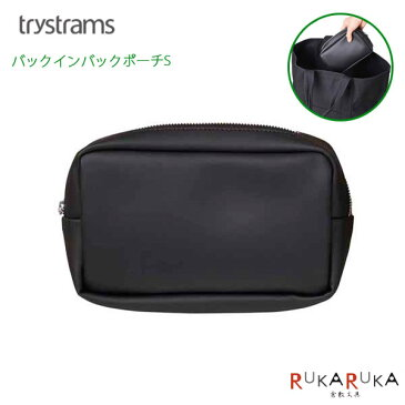 trystrams/トライストラムス バッグインバッグ [Sサイズ A6] ブラック GT600 コクヨ THM-MM11D *ネコポス不可*スマート ギフト 小物入れ