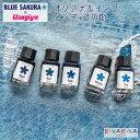 ■オリジナルインク■ BLUE SAKURA×Usagiya インディゴの街 15ml 水性染料インク [全5色] うさぎや 1293-BU-*** フーバル ブルーサクラ ジーンズ