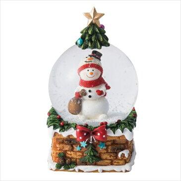 スノードーム・M・ツリーハウス [全2種類] MARK'S マークス 439-GUO-SD97-* *ネコポス不可* クリスマス 置物 サンタ スノーマン