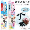 消せる筆ペン [全2色] ホワイトボード用 エポックケミカル 1650-63*-1980 【ネコポス