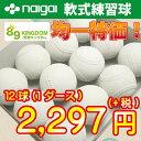 【あす楽対応】軟式ボール/ ナイガイ B・C号練習球 【練習球2,48...