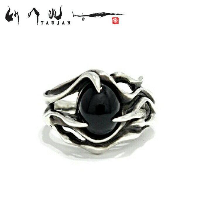 メンズジュエリー・アクセサリー, 指輪・リング TAUJAN 178-15 Onyx 925