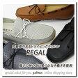 REGAL(リーガル) 靴 メンズ デッキシューズ スリッポン 954R モカシン リーガル定番 黒 茶 2017年春新作 ネイビー グレー