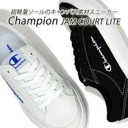 レディーススニーカー、Champion、チャンピオン、JAM、COURT、LITE