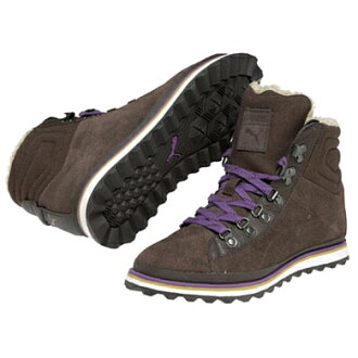 PUMA (PUMA) chocolate brown CITY SNOW BOOT S WNS ( city snow boots S Womens )
