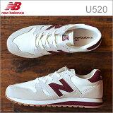 new balance ニューバランス U520 CD WHITE/BURGUNDY ホワイト/バーガンディ 靴 スニーカー シューズ 【あす楽対応】【smtb-td】